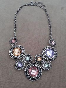 "Premier Designs Jewelry Catalog 2014-2015 PREMIER DESIGNS JEWELRY ""CHIFFON"" NECKLACE."