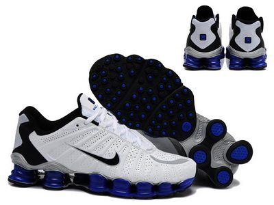 Shox Nike Shox TLX White Royal Blue Black [Nike Shox TLX - 2014 new  arrivals on these Nike Shox TLX White Royal Blue Black shoes.