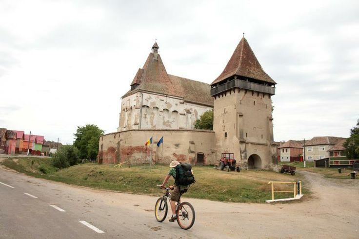 Bike trip. Boian, Sibiu, Romania
