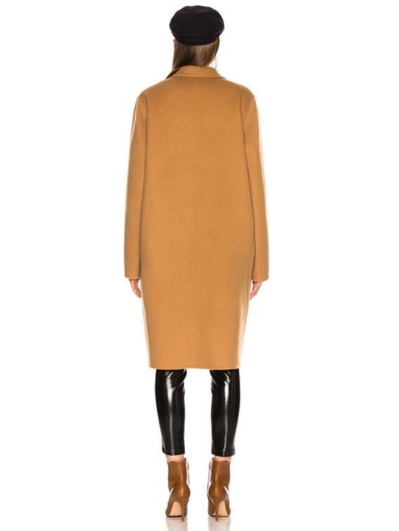ed1f34794 Acne Studios Avalon Double Coat in Camel Brown