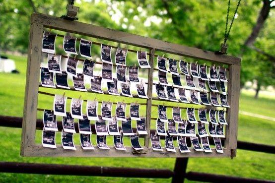 Polariod: Window Seating Charts, Wedding Seating Charts, Cards Seating Charts Table, Charts Table Numbers, Wedding Ideas, Polaroid, Picture Ideas