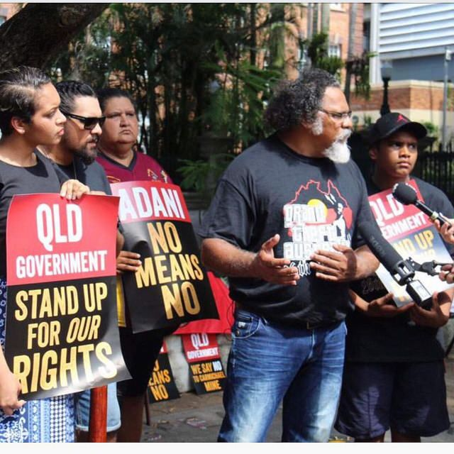 The submissions, supported by Australian Lawyers for Human Rights (ALHR), appeal for urgent intervention to protect the basic, inherent human rights of the Wangan & Jagalingou Peoples. (Image credit: Murrawah Johnson via Flickr)