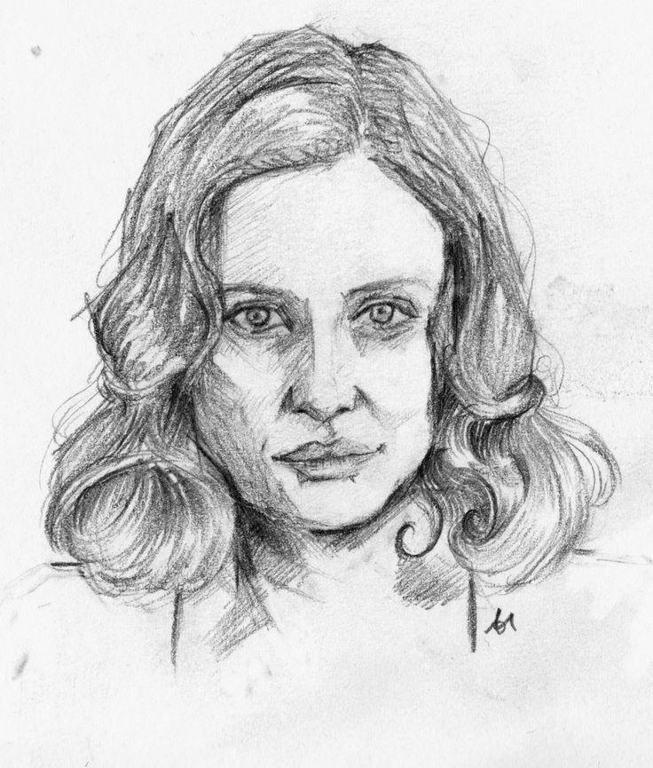 Romola Garai by nougatetmephisto, drawing http://RomolaGarai.org