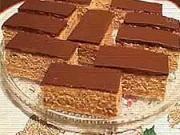 Medove rezy - recept na medové rezy s čokoládou - VIDEO Ako sa to robí.sk