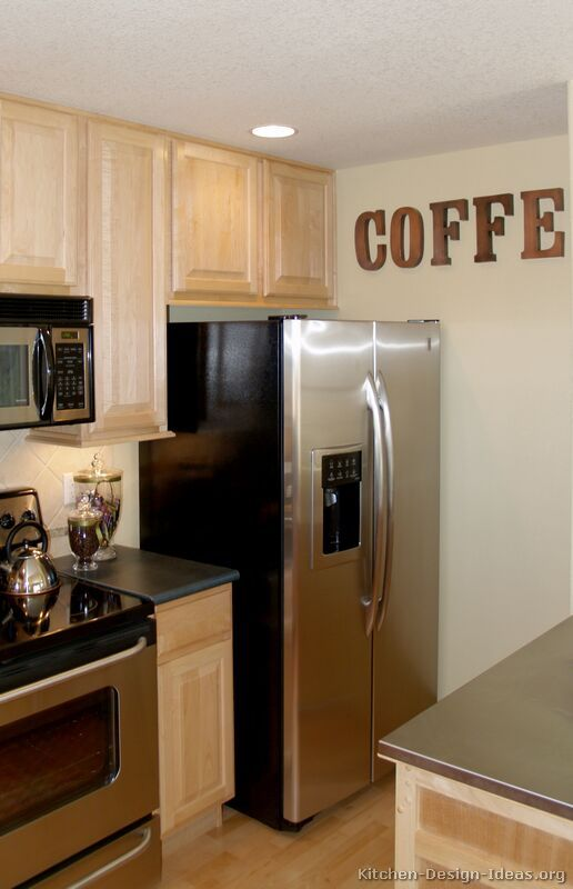 Traditional Light Wood Kitchen Cabinets 38 Kitchen Design Ideas Org Coffee Theme