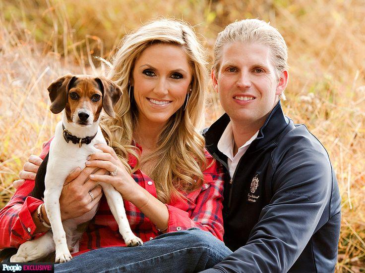 Donald Trump's Son Eric Is Married http://www.people.com/article/eric-trump-donald-trump-son-married-lara-yunaska