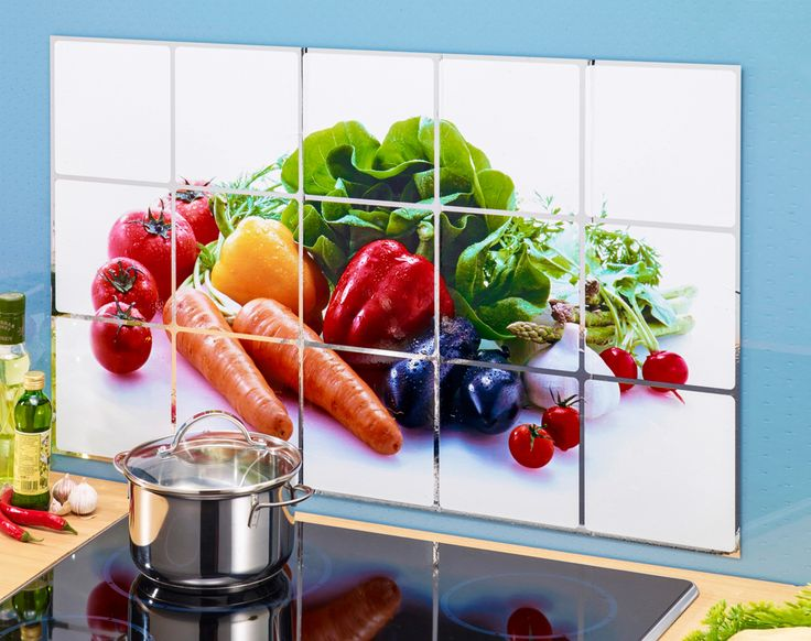 Ochrana na zeď - Zelenina - Kliknutím zobrazíte detail obrázku.