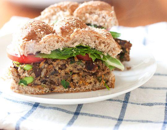 Black Bean Edamame Burgers Recipes — Dishmaps