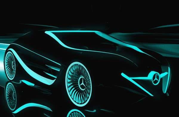 Tron Legacy Mercedes Blackbird