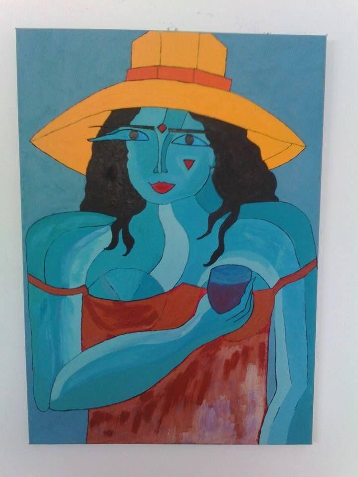Painting by Marta Iglesias. Sonia