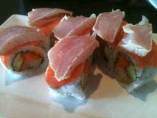 Nori Japanese Restaurant (Nanaimo) Island Fever Roll #sushi