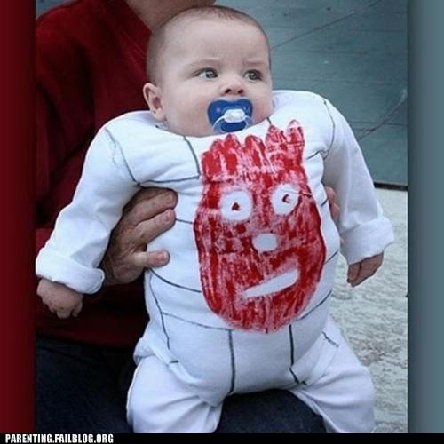 """Baby """"Wilson"""" from Castaway! Hahahaha @Krissa Robinson"""