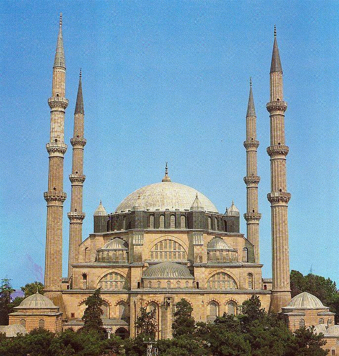 Selimiye mosque - Edirne, Turkey. 1569 - 1574 Architect SİNAN