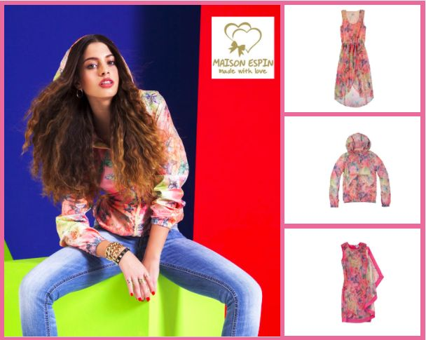 Maison Espin flowers  Chiara Nasti #newface #maisonespin #ss14 #collection #lovely #look #madewithlove