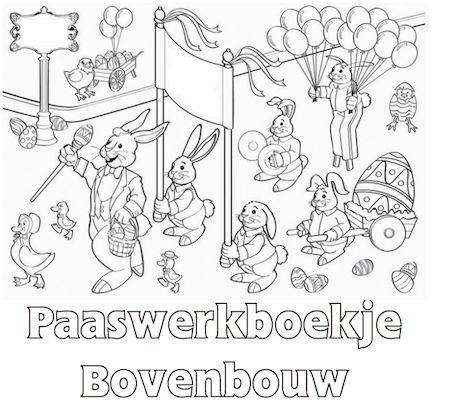 Paaswerkboekje Bovenbouw