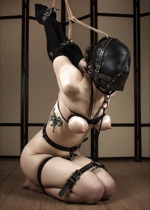 Love her bondage rope tight helpless hog dude