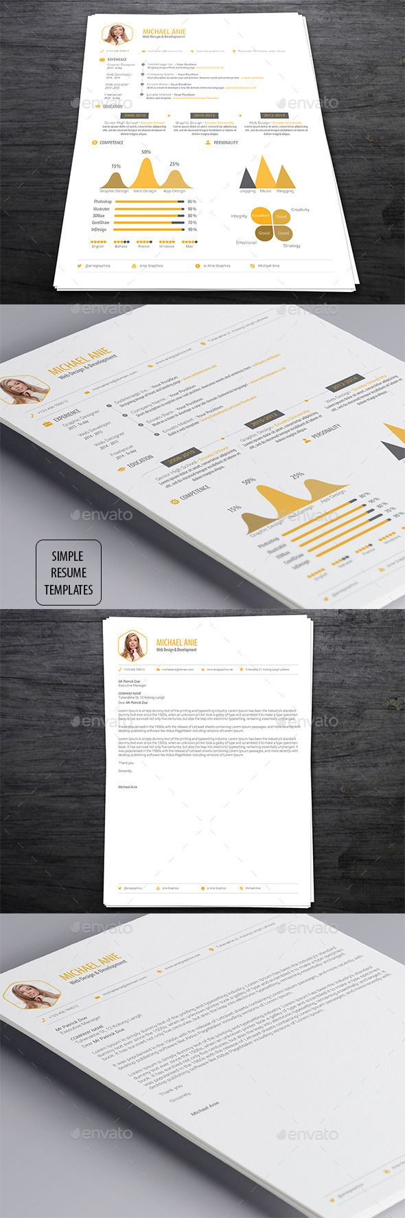 simple resume templates - Simple Resume Template