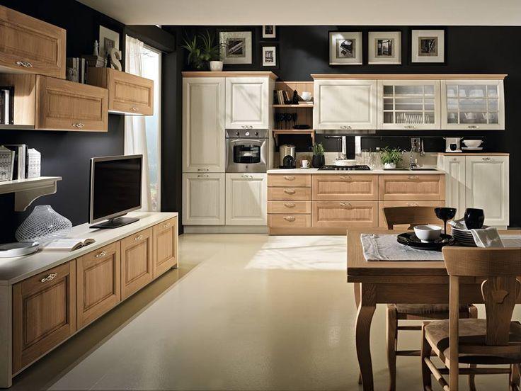 34 best cucine peri images on Pinterest Arquitetura, Kitchen - küche retro stil