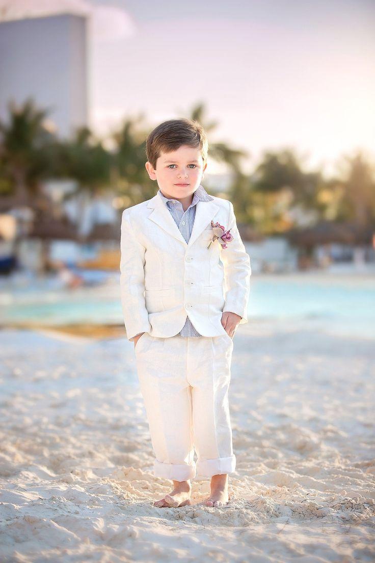 Ring Barear Boy Linen Suit-Ryan