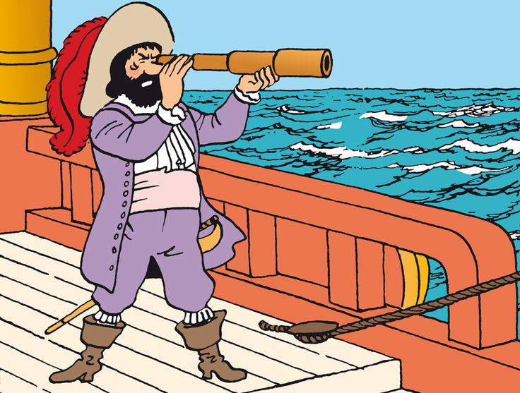 Tintin.com - Personnages secondaires. Captain Francis Haddock