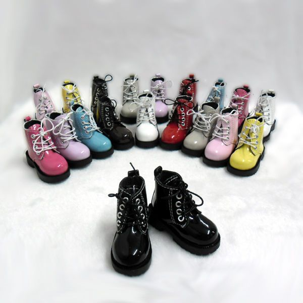 Mimi Collection MSD DOC 1/4 Bjd Obitsu 60cm Doll Boot High Hill Shoes Black #MimiCollection #shoes