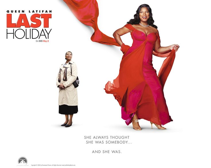 Watch Streaming HD Last Holiday, starring Queen Latifah, LL Cool J, Timothy Hutton, Giancarlo Esposito. After she's diagnosed with a terminal illness, a shy woman decides to take a European vacation. #Adventure #Comedy #Drama http://play.theatrr.com/play.php?movie=0408985