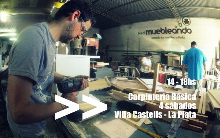 Carpintería Básica en La Plata, reservá! Vacantes limitadas!! http://muebleando.com/content/carpinteria-basica-4-sabados-la-plata