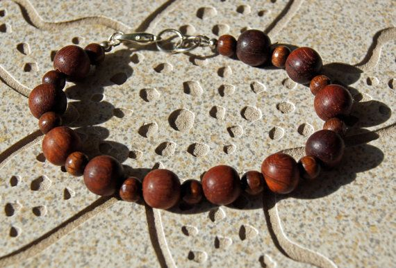 Bayong Beaded Wooden Bracelet 10mm and 6 mm by InspiredDesigns4YOU, $30.00
