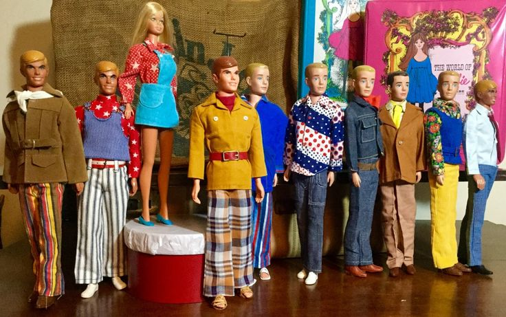 70's male doll fashions