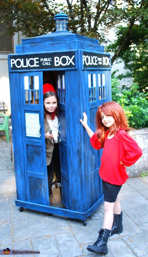 Michelle: Being huge fans of the show, both of my daughters wanted Doctor Who inspired costumes this year. My oldest was determined to be The Doctor, complete with TARDIS! We brainstormed...