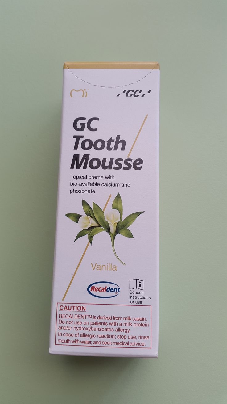 GC tooth mousse - vanilla