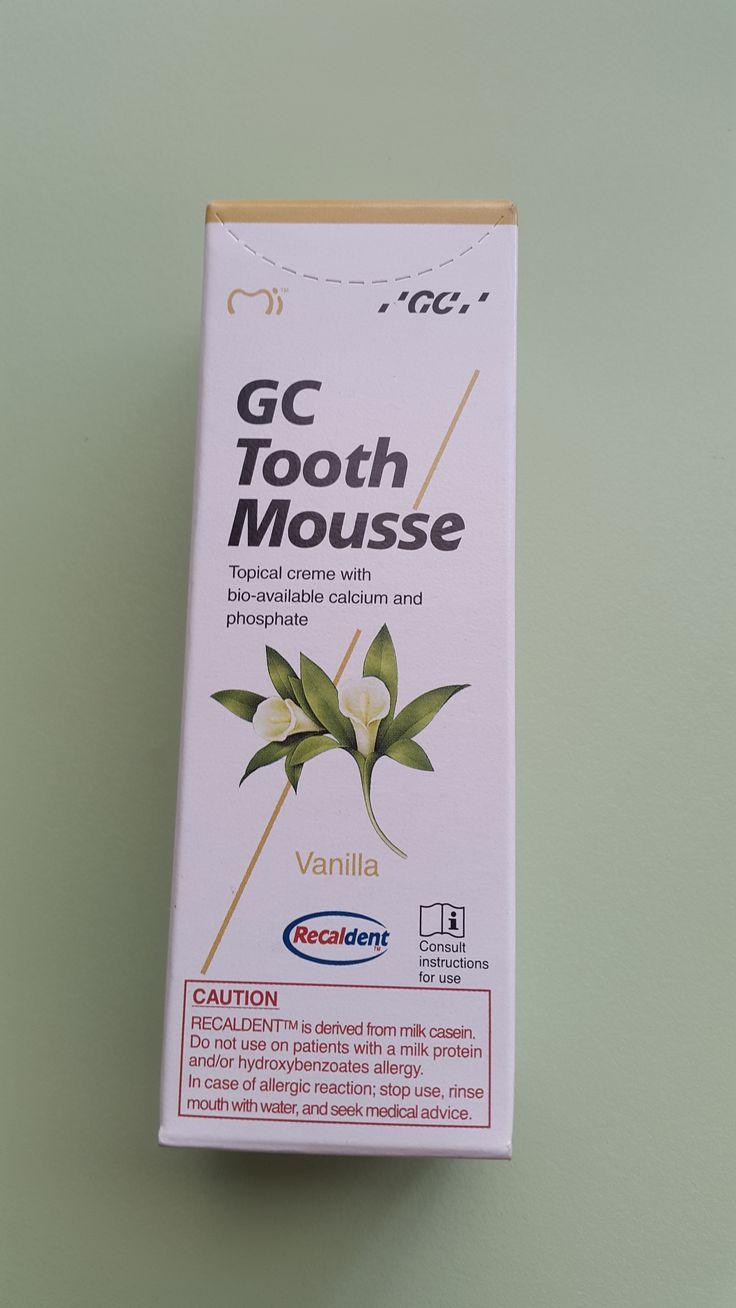 GC tooth mousse - vanilla