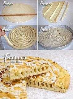 Kremalı Rulo Çörek Tarifi