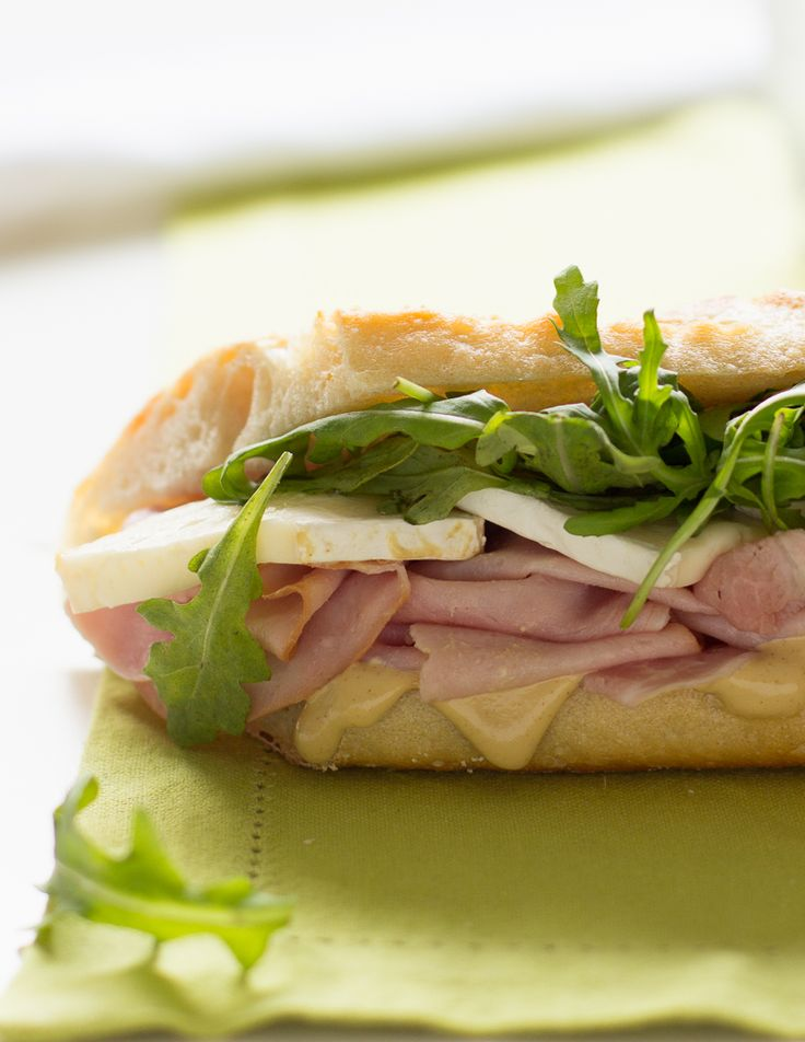 Celebrate spring with a picnic and a ham and Brie baguette