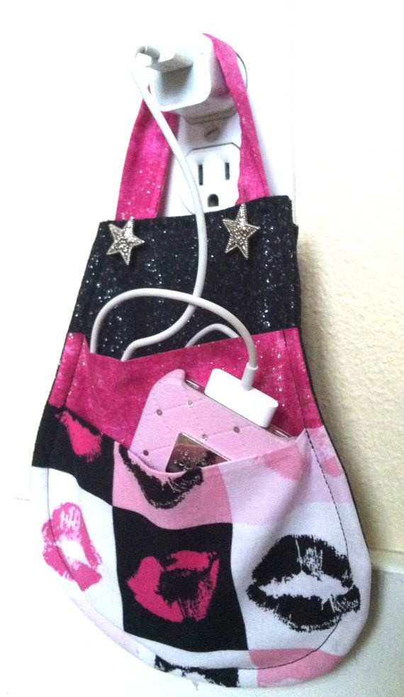 Hollywood Glam for your phone! iPhone 5 iPhone 4 iPod Touch Docking Station Wall by mizzeztee, $18.00