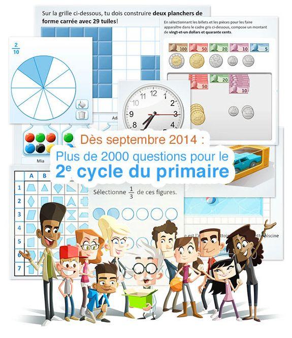 Le 2e cycle du primaire, c'est pour bientôt! Depuis octobre dernier, nous bûchons sur du nouveau contenu pour la 3e et 4e année du primaire!