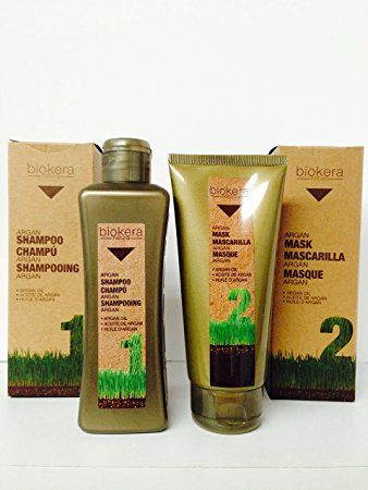Salerm Biokera Argan Shampoo 11 Oz and Argan Mask 6.8 Oz Review