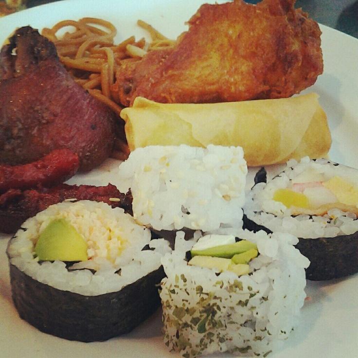 Sakura buffet.