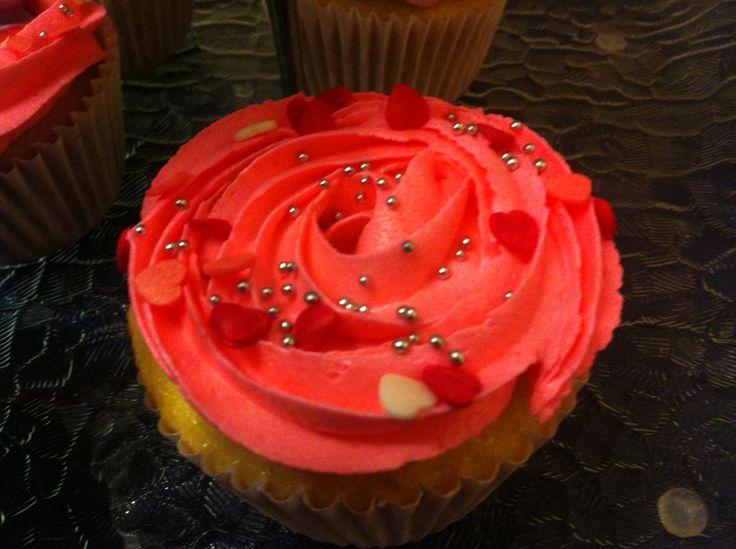 cupcakes de rosas