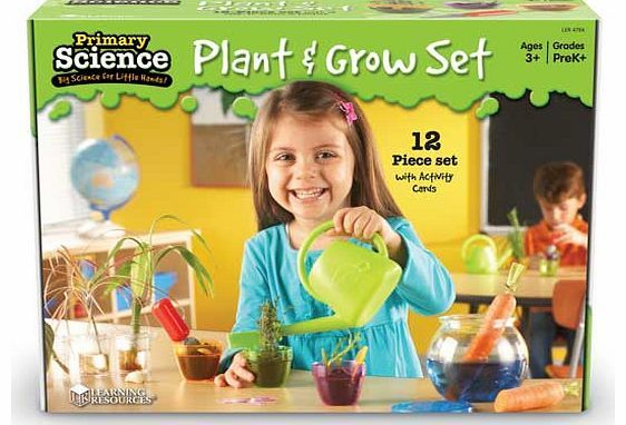 Learning Resources Primary Science Plant Grow Kids will love gardening with this Primary Science Plant  Grow Set. The child friendly tools make it perfect for little hands to explore the concepts of gardening with easy to follow step-by-step ill http://www.comparestoreprices.co.uk/science-and-discovery-toys/learning-resources-primary-science-plant-grow.asp