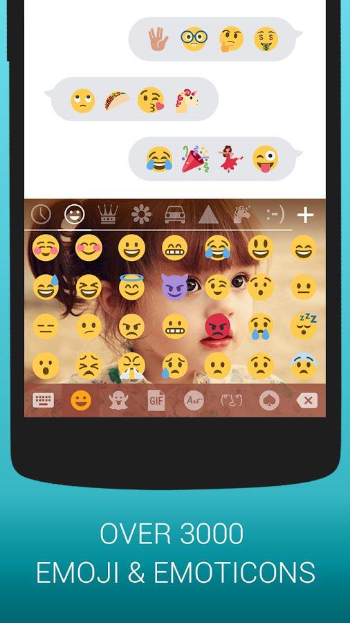 Emoji Keyboard Cute Emoticons- screenshot