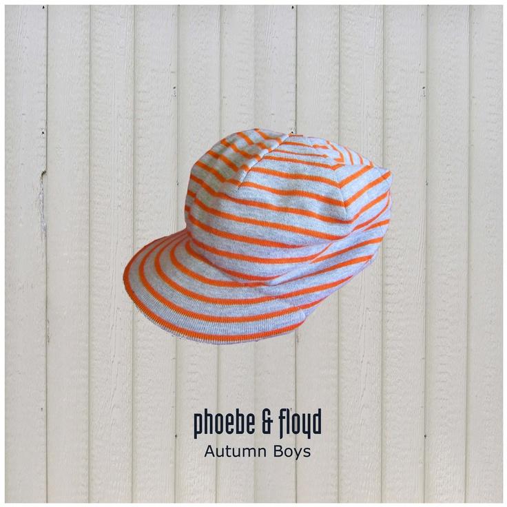 Yarn Dyed Stripe Beanie Peak