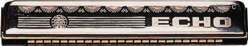 Hohner 2509 Echo Harmonica, Minor C by Hohner. $95.00. Hohner's tremolo harmonicas are double reed instruments. The bottom row of holes features the same notes as the top row, tuned slightly higher. This special tuning creates the tremolo's distinct sound, a beautiful vibrato effect with a richer tone. These harmonicas are primarily used in ballads, folk, reggae & gospel music.