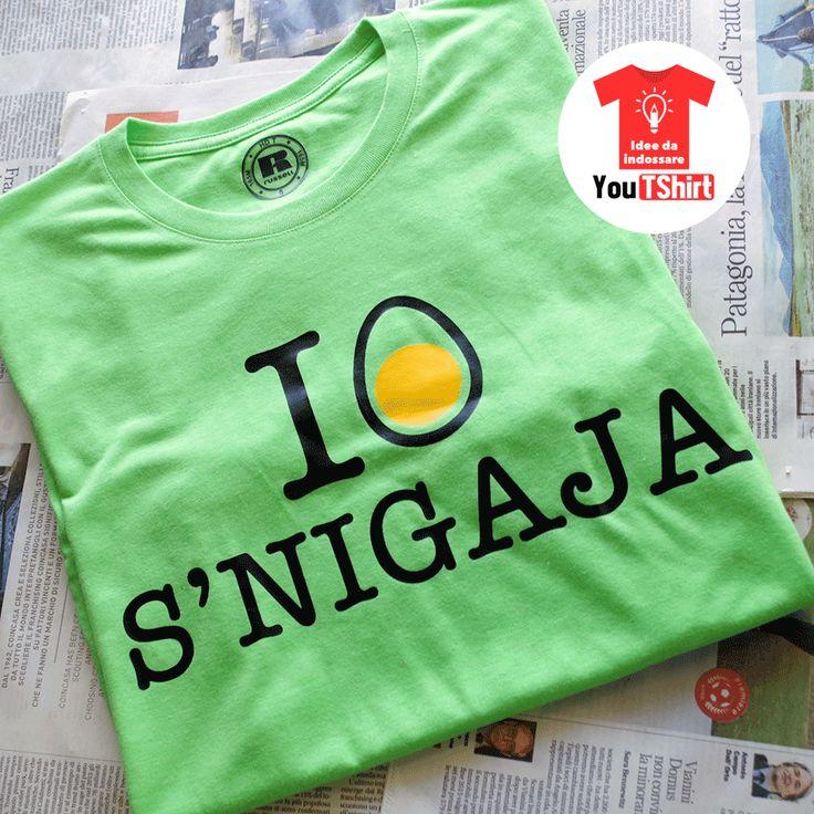 """I Lov S'nigaja by You T-Shirt. Una maglietta ispirata alla celeberrima """"I Love New York"""". Per vedere le nostre creazioni visita la nostra pagina FB: https://www.facebook.com/youtshirtsenigallia/"""