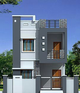 29 best a images on pinterest house elevation home for Small house elevation in india