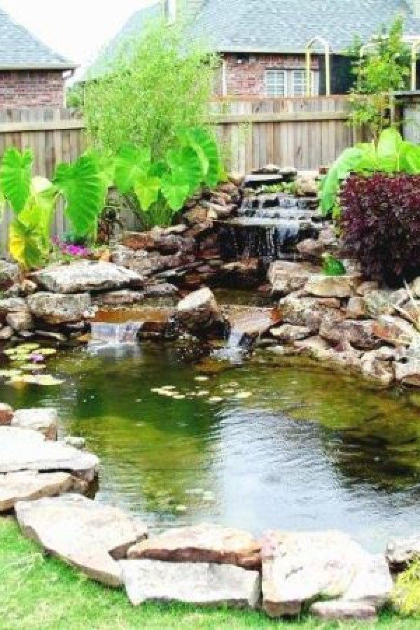 50 Beautiful Koi Pond Designs You Can Create To Add Beauty To Your Home Koi Ponds Design No 12647 Garden Pond Design Backyard Water Feature Pond Design