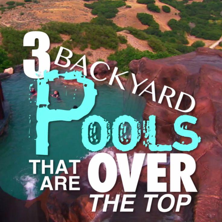 3 Over-The-Top Backyard Pools