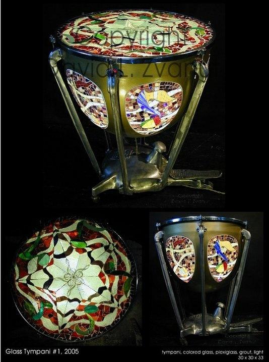 Handmade Lighted Glass Sculptural End Tables By David L. Zvanut Fine Art |  CustomMade.
