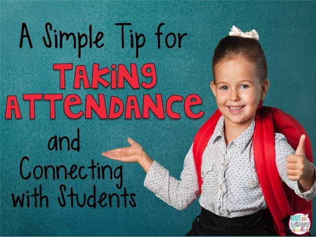 A Simple Tip for Taking Attendance and Connecting with Students