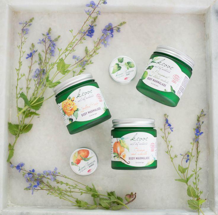 Kivvi Natural Cosmetics body marmalades and lip marmalades buy